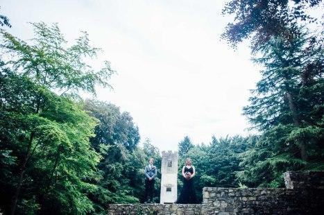 Fonmon Castle Wedding photography-133