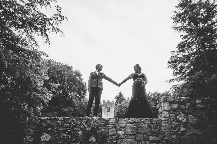 Fonmon Castle Wedding photography-134