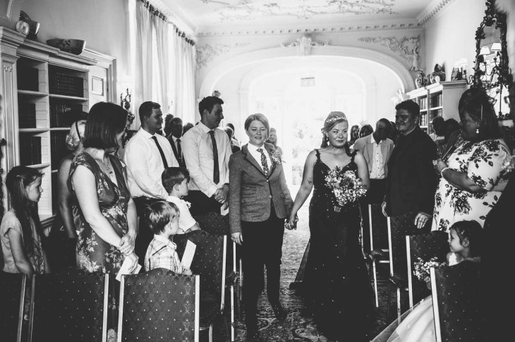 Fonmon Castle Wedding photography-58