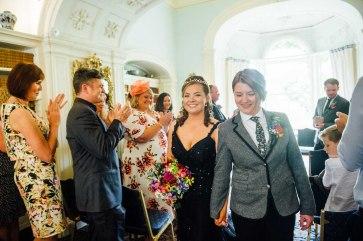 Fonmon Castle Wedding photography-65