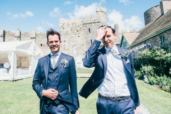 Manobier Castle wedding Photography-108