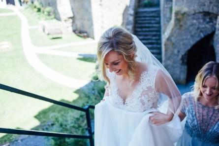 Manobier Castle wedding Photography-119