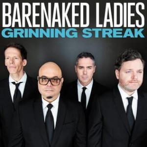 """""""Grinning Streak"""" marks a new era for the Barenaked Ladies.  (Album cover property of Vanguard Records.)"""