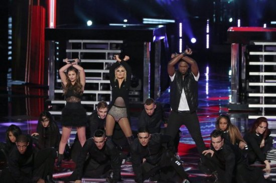 Jacquie Lee and Matthew Scuhler made their divalicious mentor very proud tonight. (Photo property of NBC's Tyler Golden)