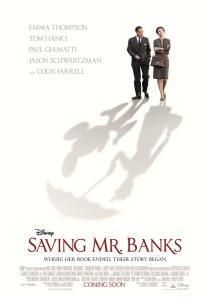 Saving Mr. Banks poster