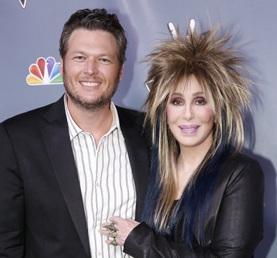 Blake Shelton and Cher The Voice