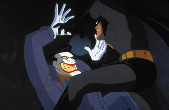 Batman and Joker Batman the Animated Series