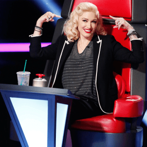 Gwen Stefani Blake The Voice
