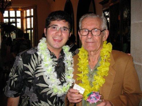 My beloved grandfather, Ralph Matzdorff, passed away on my birthday! I will always love and miss him. (Photo property of Jacob Elyachar)