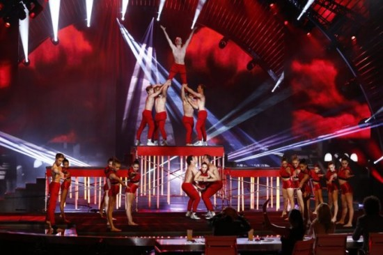 "AcroArmy's choreography and high-flying stunts kept the ""AGT"" audience on their seats throughout the entire season. (Photo property of NBC)"