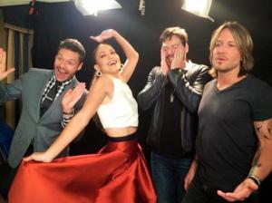 The Idol Gang at TCAs