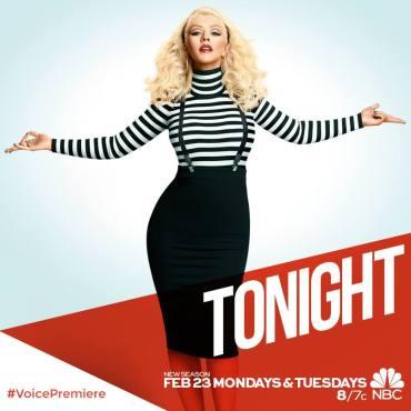 Christina Aguilera returns to The Voice