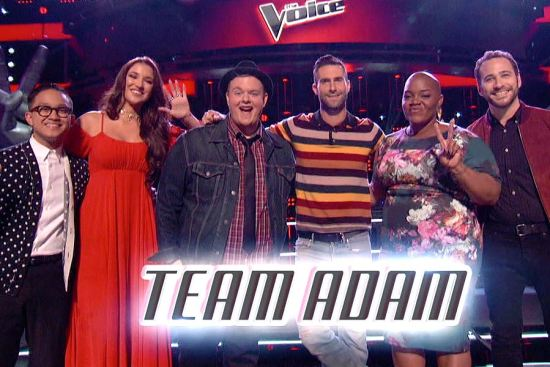 Team Adam The Voice Season Eight
