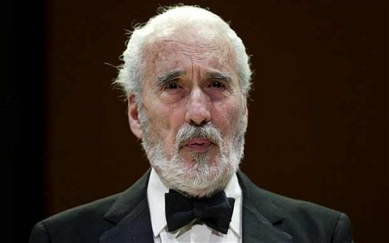 Christopher Lee photo