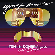 Tom's DIner Giorgio Moroder and Britney Spears