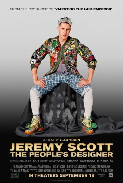 """Jeremy Scott: The People's Designer"" was showcased at the Kansas City Film Fest. (Poster property of the Vladar Company)"