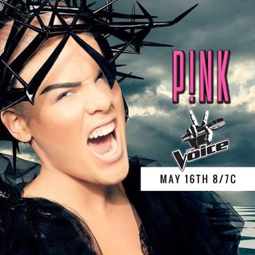 Pink on the Voice