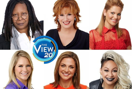 The View 20th anniversary co-hosts