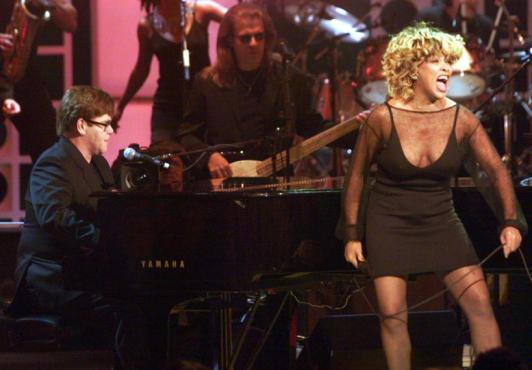 Tina Turner and Elton John The Bitch is Back
