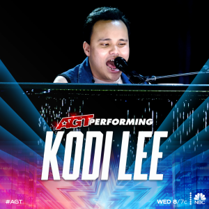 Kodi Lee performs on AGT