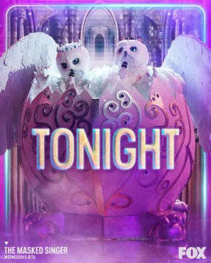 The Snow Owls returned for The Masked Singer: Season Four Group A Playoffs (Photo & graphics property of FOX)