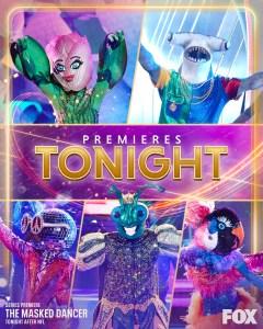 The Masked Dancer Premiere