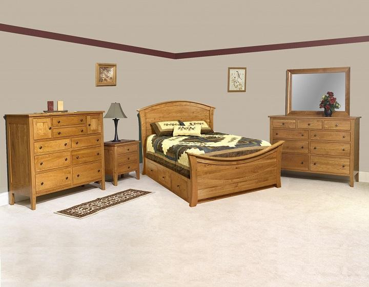 Jakes Amish Furniture Chelsea Bedroom Setting