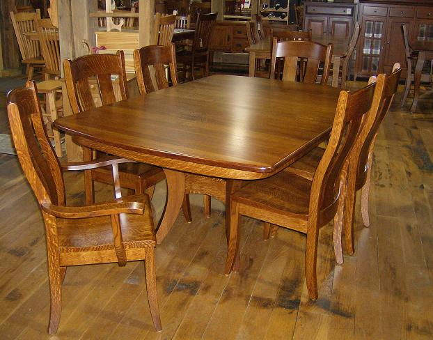Sets Table Dining Amish