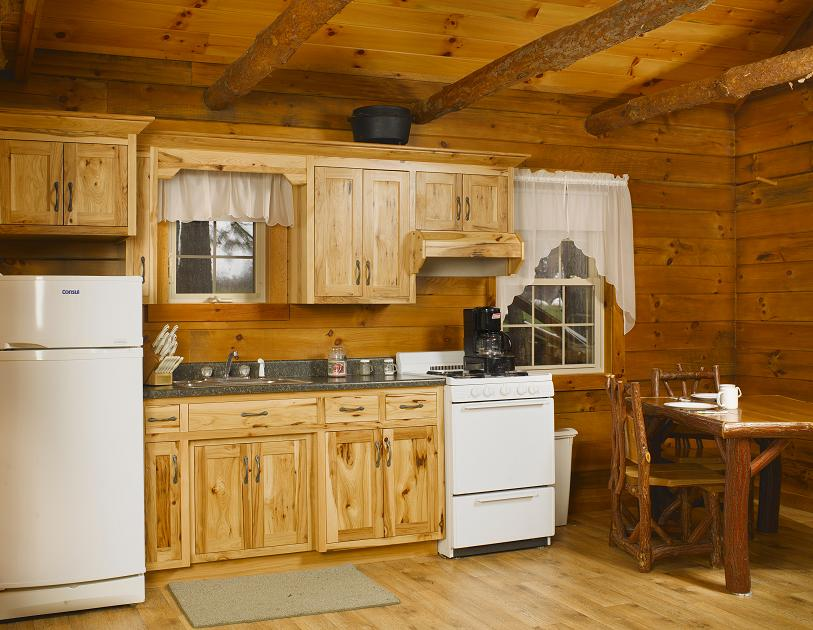 Jakes Amish Furniture Rustic Hickory Cabin Kitchen