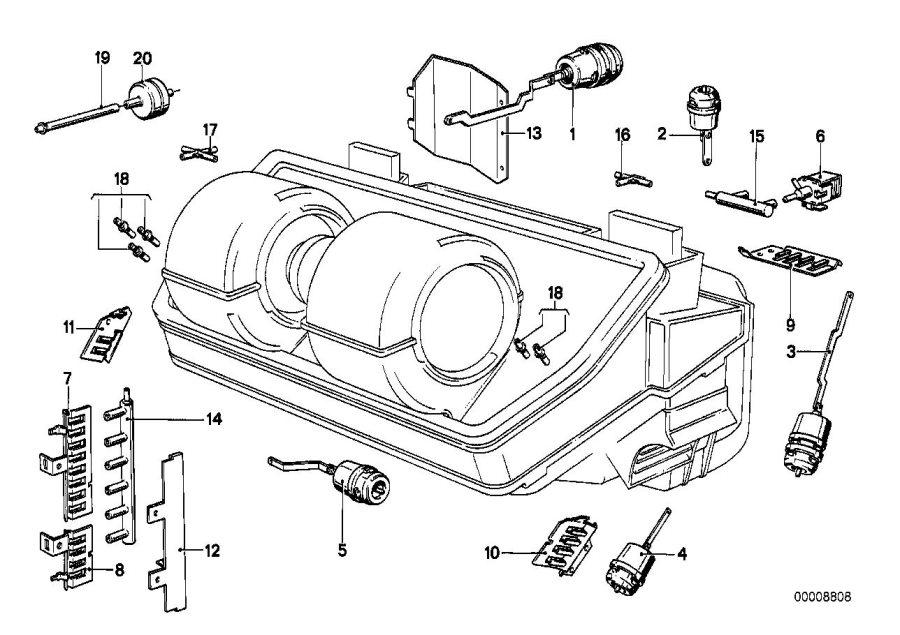 Bmw E23 Vacuum Diagram. Bmw. Auto Wiring Diagram