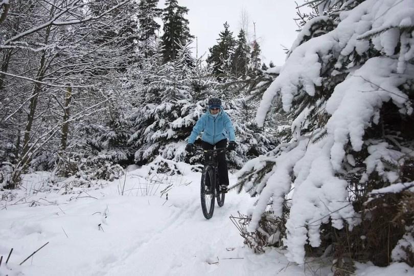 rower na zimę