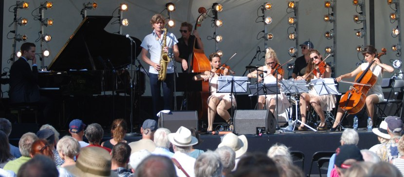 """Jazz Diva Days - """"Dino with Strings"""""""