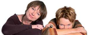Team mancherlei   Marianne Bramme-Groetklaes + Didi Eylert