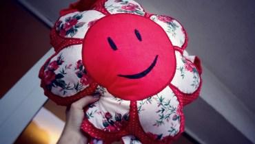 Poduszka-kwiatek, czyli najsłodsza z jakowych poduszek