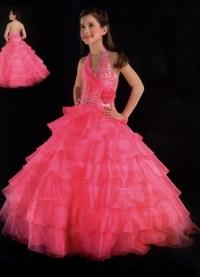 Pageant ball gowns - little girls ball gown dresses.