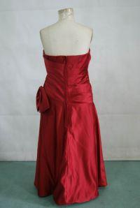 Chocolate brown bridesmaid dress.