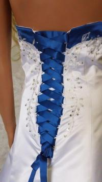 Wedding Dresses With Royal Blue Trim - Wedding Dresses In ...