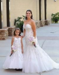 Matching Bride And Flower Girl Dresses - Cheap Wedding Dresses