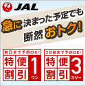 JAL 日本航空 特便割引