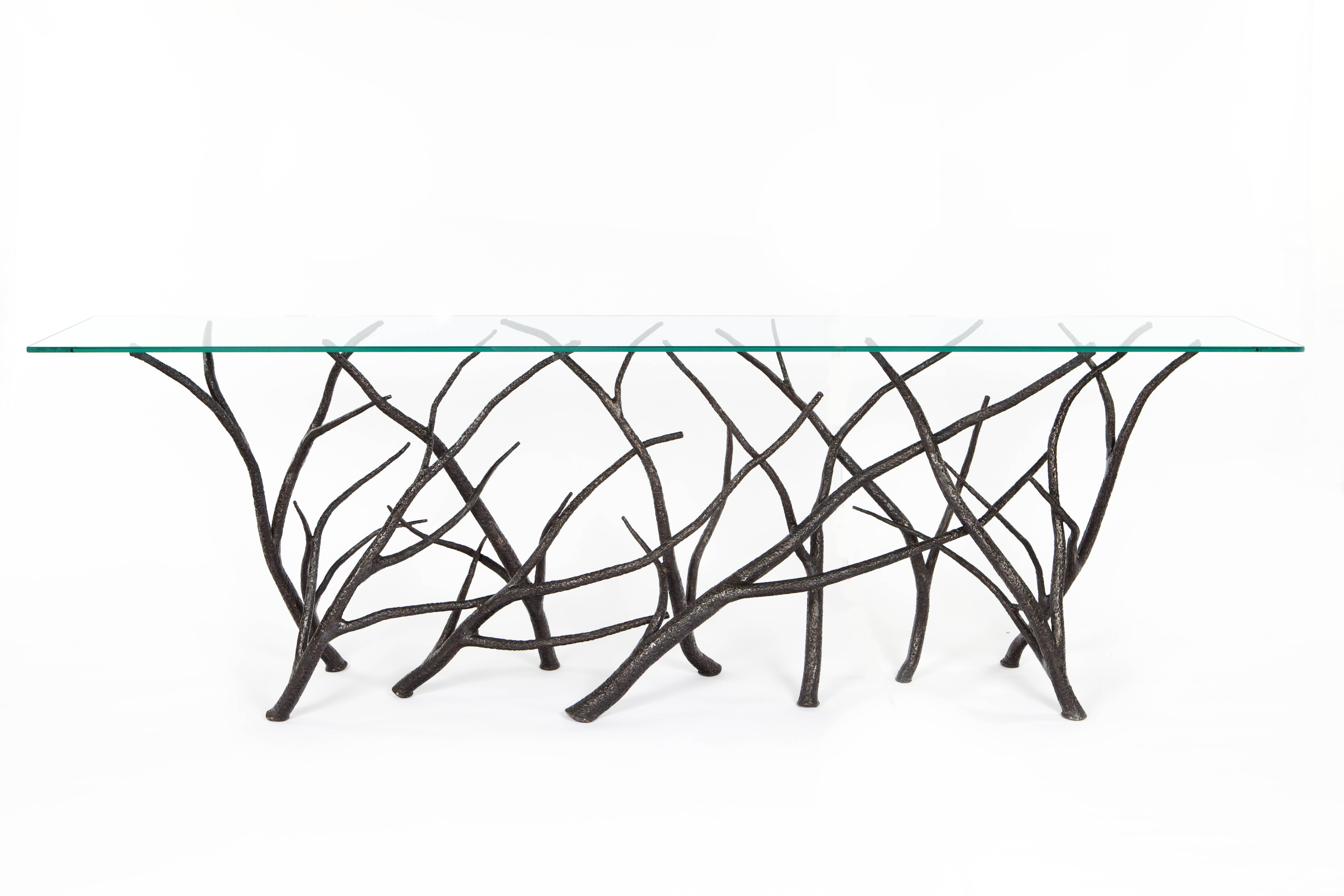 One Of A Kind Steel Console Table