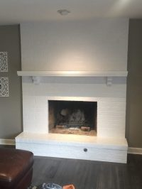Should You Paint Your Brick Fireplace? - Jalapeno Paint Werx