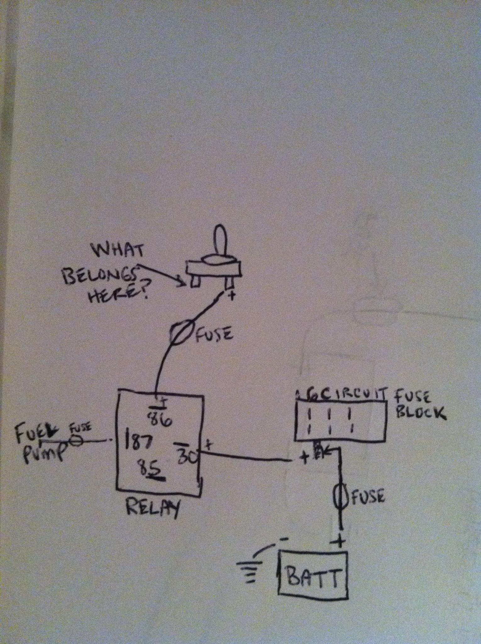 4 pin relay wiring diagram fuel pump 3 plug usa oil switch 41