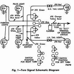 1966 Corvette Turn Signal Wiring Diagram Gmc Envoy Stereo Data Technical Issues Brake And The H A M B Single Light Indicator