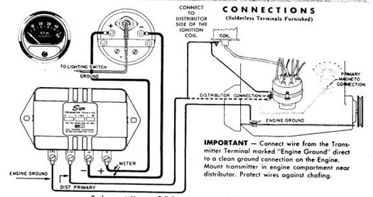 Sunpro Tach Wiring Diagram Wirning Diagrams