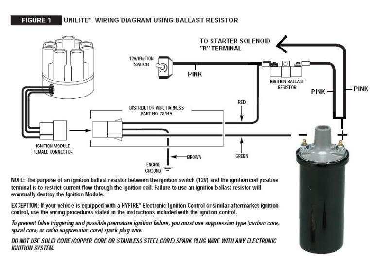 Mallory Unilite Distributor Wiring Diagram Hei Module Wiring