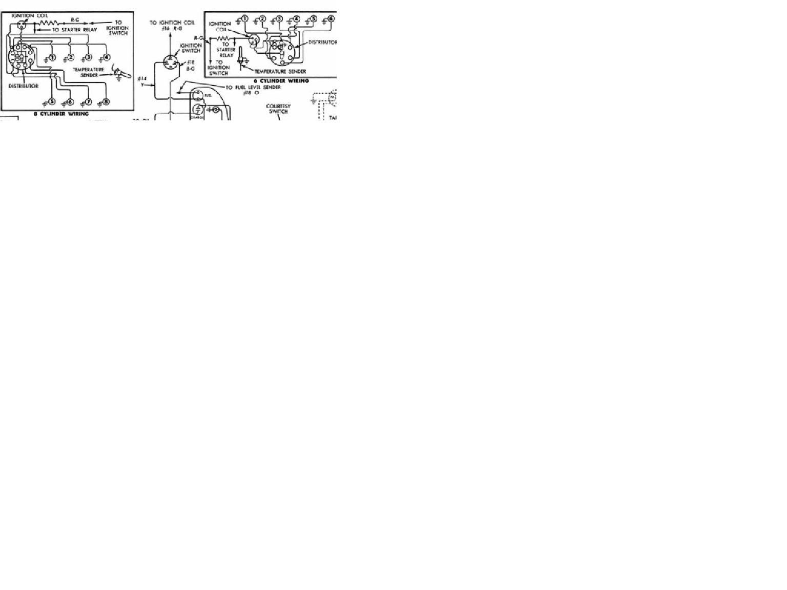 1955 chevy generator wiring diagram alternator technical ignition switch 2