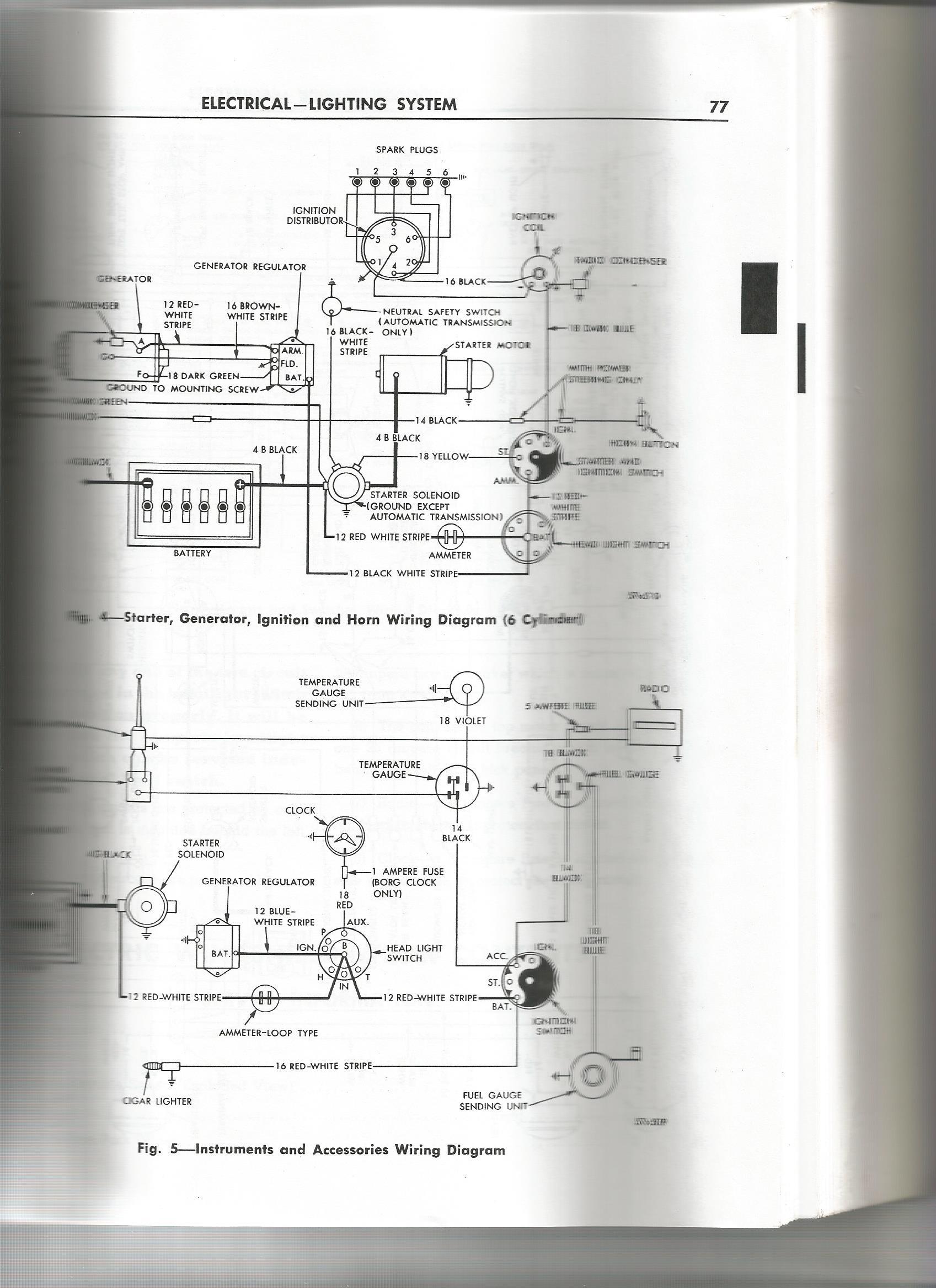 hight resolution of 6 volt neg ground coil wiring diagram