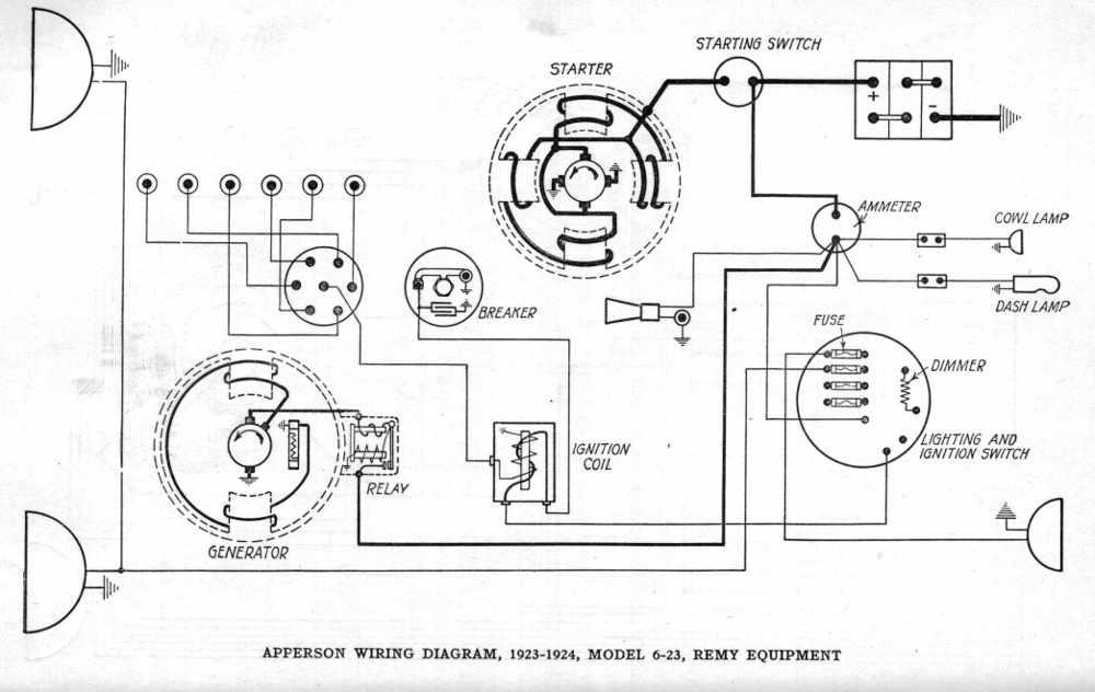 [DIAGRAM] Delco Remy 6 Volt Wiring Diagram FULL Version HD