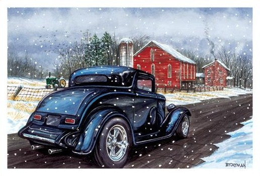 Art Amp Inspiration TRADITIONAL Hot Rod Amp Custom CHRISTMAS