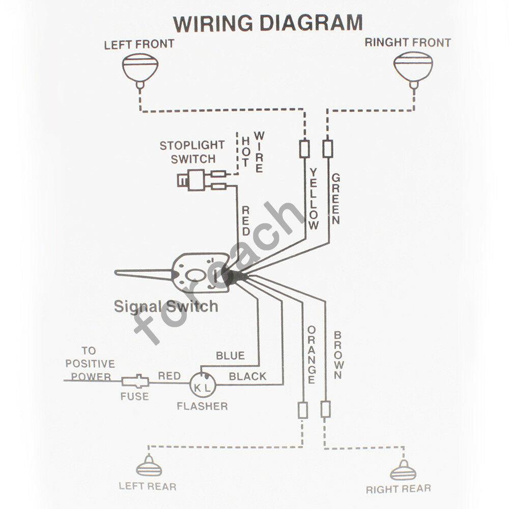 Yankee Turn Signal Wiring Diagram / Diagram 1980 Ford